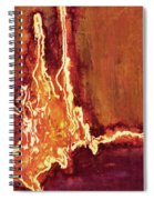 Heart On Fire Spiral Notebook