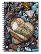 Heart Stone Spiral Notebook
