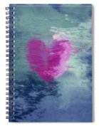 Heart Waves Spiral Notebook
