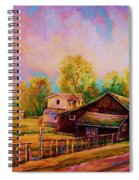 Hearth And Home Spiral Notebook