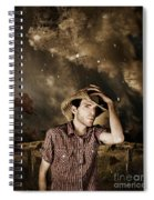 Heartland Of Outback Country Australia Spiral Notebook