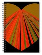 Heartline 5 Spiral Notebook