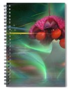 Heart's Aburstin Spiral Notebook