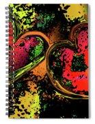 Hearts Adrift Spiral Notebook