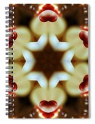 Hearts Afire Spiral Notebook