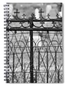 Hearts And Crosses Spiral Notebook