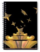 Hearts And Stars Spiral Notebook