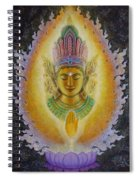 Heart's Fire Buddha Spiral Notebook