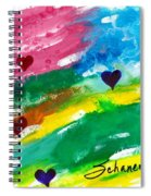 heARTs Of The Sea Spiral Notebook