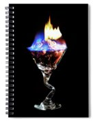 Hearts On Fire Spiral Notebook