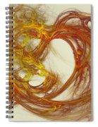 Heat Of The Heart Spiral Notebook