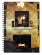Heat Of The Moment Spiral Notebook