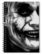 Heath Ledger Joker Spiral Notebook