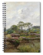 Heather Landscape Spiral Notebook