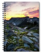 Heather Meadows Sunset Spiral Notebook