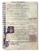 Heautontimoroumenos Spiral Notebook