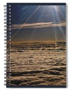 Heaven Above The Clouds Spiral Notebook
