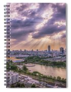 Heaven And Earth Spiral Notebook