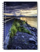 Heaven Let Your Light Shine Down Spiral Notebook