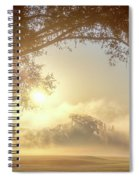 Heavenly Arch Sunrise Spiral Notebook
