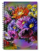 Heavenly  Blossom Spiral Notebook
