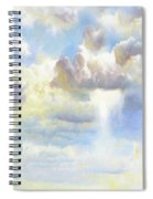 Heavenly Clouded Beautiful Sky Spiral Notebook