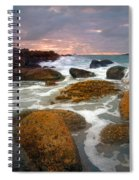 Heavenly Dawning Spiral Notebook