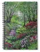 Heavenly Garden Spiral Notebook