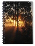 Heavenly Spiral Notebook