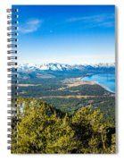 Heavenly South Lake Tahoe View 1 - Left Panel Spiral Notebook