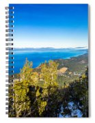 Heavenly South Lake Tahoe View 1 - Right Panel Spiral Notebook