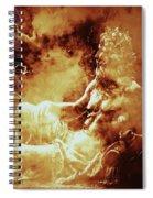 Heavenly Throne Spiral Notebook