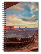 Heavenly View Spiral Notebook