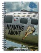 Heavens Above Spiral Notebook