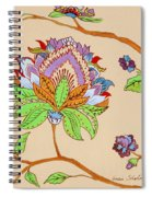 Heavens Flower Spiral Notebook