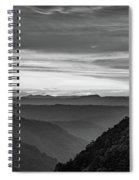 Heaven's Gate - West Virginia Bw Spiral Notebook