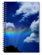 Heavens Rainbow Spiral Notebook