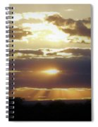 Heaven's Rays 2 Spiral Notebook