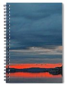 Heavy Cloud Cover  Spiral Notebook