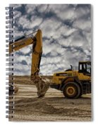 Heavy Duty Earth Movers Spiral Notebook