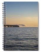 Heavy Fogbank Spiral Notebook