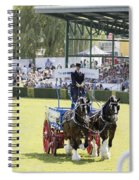 Heavy Horses Competition Spiral Notebook