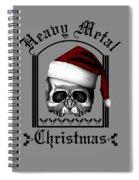Heavy Metal Christmas Spiral Notebook