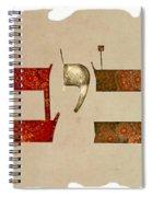 Hebrew Calligraphy-aviv Spiral Notebook