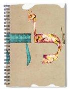 Hebrew Calligraphy- Eilat Spiral Notebook