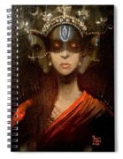 Hecate Crowned Spiral Notebook