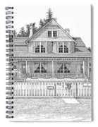 Heceta Head Bed And Breakfast Spiral Notebook
