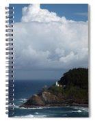 Heceta Head Lighthouse Spiral Notebook