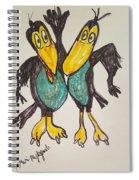 Heckle And Jeckle Spiral Notebook