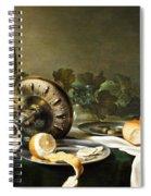 Heda - Still-life Spiral Notebook